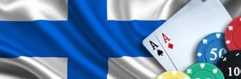 Suomen lippu, pelimerkkejä ja pelikortteja